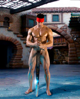 00A1J_ Big Sword – Model Yaniv – To Live By The Sword